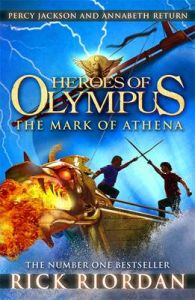 The Mark of Athena (Heroes of Olympus Book 3) : The Mark of Athena (English): Book by Rick Riordan