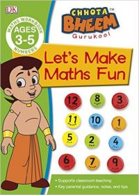 Chota Bheem Gurukool - Let's Make Maths Fun: Book by DK