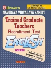 Navodaya Vidyalaya Samiti Trained Graduate Teachers Recruitment Test English