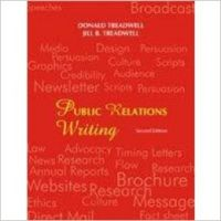 Public Relations Writing : Principles In Practice (English) Second Edition (Paperback): Book by Donald Treadwell, Jill B Treadwell