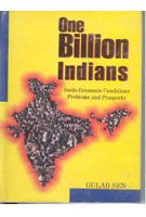 One Billion Indian: Problems And Prospects: Book by Kanwar Sen