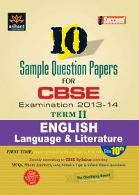 CBSE 10 Sample Question Paper - ENGLISH LANGUAGE & LITERATURE for