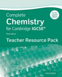 Complete Science for Cambridge IGCSE : Complete Chemistry for Cambridge IGCSE Teacher Resource Pack: Book by RoseMarie Gallagher