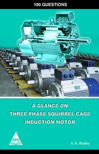 100 QUESTIONS A GLANCE ON THREE PHASE SQUIRREL GAGE INDUCTION MOTOR: Book by PANDEY