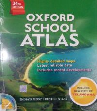 Oxford School Atlas (English) 34th Edition (Paperback): Book by OXFORD