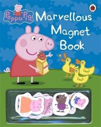 Peppa Pig: Marvellous Magnet Book (English) (Hardcover): Book by Ladybird