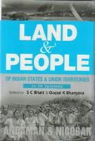 Land And People of Indian States & Union Territories (Andaman & Nicobar), Vol. 30th: Book by Ed. S. C.Bhatt & Gopal K Bhargava