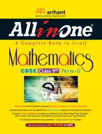 All in One Mathematics CBSE Class 9th Term-II: Book by Sanjeev Jain, Nikita Singh Bisla