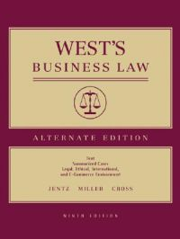 West's Business Law: Book by Gaylord A. Jentz