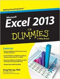 Microsoft Excel 2013 for Dummies (With DVD) (English) (Paperback): Book by Greg Harvey