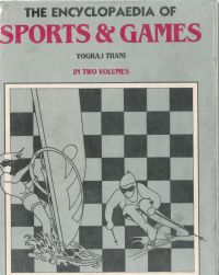 The Encyclopaedia of Sports And Games (2 Vols.): Book by Yograj Thani