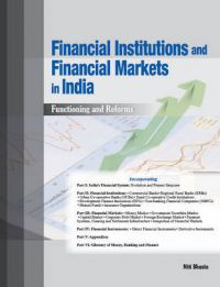 Financial Institutions and Financial Markets in India: Book by Niti Bhasin