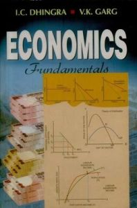 Economics Fundamentals | Book by I C  Dhingra , V K  Garg | Best