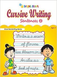 Cursive Writing Sentences - 2 (English): Book by Priti Shanker