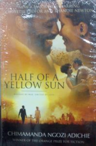 Half of a Yellow Sun (English) (Paperback): Book by                                                      Chimamanda Ngozi Adichie, who grew up in Nigeria, was shortlisted for the 2002 Caine Prize for African Writing. Her work has been selected by the Commonwealth Broadcasting Association and the BBC Short Story Awards and has appeared in various literary publications, including Zoetrope and The Iowa Re... View More                                                                                                   Chimamanda Ngozi Adichie, who grew up in Nigeria, was shortlisted for the 2002 Caine Prize for African Writing. Her work has been selected by the Commonwealth Broadcasting Association and the BBC Short Story Awards and has appeared in various literary publications, including Zoetrope and The Iowa Review.