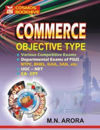 Commerce Multiple Choice Questions (Paperback): Book by M N Arora