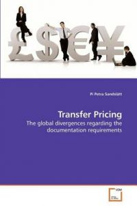 Transfer Pricing: Book by Pi Petra Sandsltt