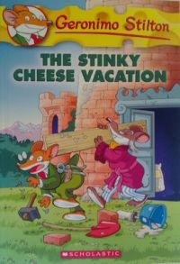 GERONIMO STILTON #57 THE STINKY CHEESE VACATION (English) (Paperback): Book by GERONIMO STILTON