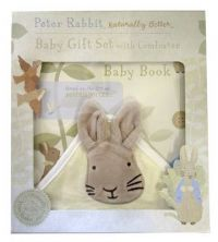 Peter Rabbit Naturally Better Baby Book and Comforter: Book by Beatrix Potter