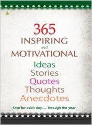 365 INSPIRING & MOTIVATIONAL IDEAS (English): Book by DEEPU PAUL