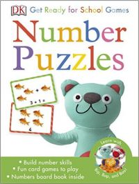 Get Ready for School Number Puzzles Games (P): Book by DK
