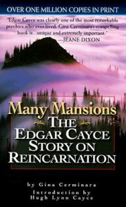 Many Mansions: The Edgar Cayce Story on Reincarnation   Book