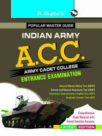 Army Cadet College (ACC) Exam Guide: Book by RPH Editorial Board