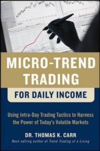 Micro-Trend Trading for Daily Income: Using Intra-Day Trading Tactics to Harness the Power of Today's Volatile Markets: Book by Thomas K. Carr