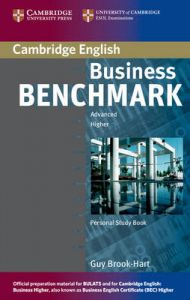 Business Benchmark Advanced Personal Study Book for BEC and BULATS: Book by Guy Brook-Hart