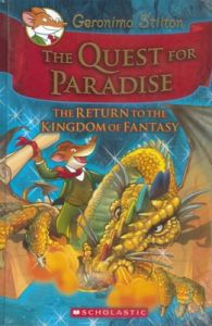 Geronimo Stilton: The Kingdom of Fantasy: The Quest for Paradise: Book by Geronimo Stilton