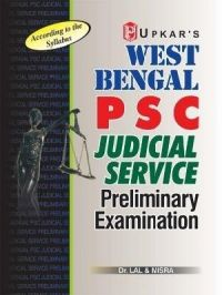 West Bengal PSC Judicial Services Pre. Exam.: Book by Dr. Lal & Misra