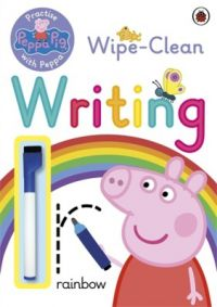 Peppa Pig: Practise with Peppa: Wipe-Clean Writing (English) (Paperback)