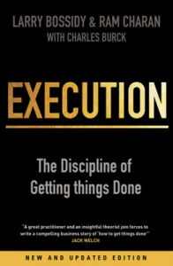 Execution (English) (Paperback): Book by Larry Bossidy