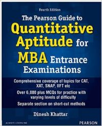 Image result for The Pearson Guide to Quantitative Aptitude for MBA Entrance Examination by Dinesh Khattar