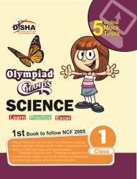 Olympiad Champs Science Class 1 with 5 Mock Online Olympiad Tests: Book by Disha Experts