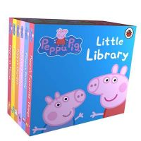 Peppa Pig: Little Library (English) (Board book): Book by Ladybird