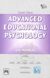 Advanced Educational Psychology (English) 2nd Edition (Paperback): Book by S. K. Mangal