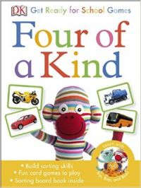 Get Ready for School Four of a Kind Games (P): Book by DK