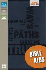 NIV Bible for Kids: Book by Zondervan Publishing