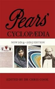 Pears' Cyclopaedia 2014-2015 (English): Book by Chris Cook
