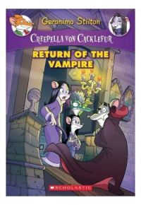 Creepella Von Cacklefur #04: Return of the Vampire (English) (Paperback): Book by GERONIMO STILTON