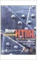 MORE EXCELLENT HTML (English) 01 Edition: Book by Gottleber