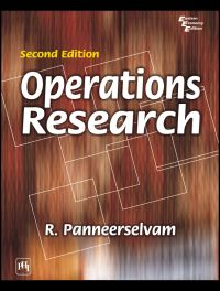 OPERATIONS RESEARCH: Book by R. Panneerselvam