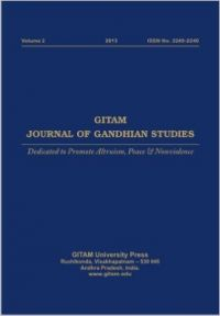 Gitam Journal of Gandhian Studies (Volume - 2) (English): Book by B. Sambasiva Prasad