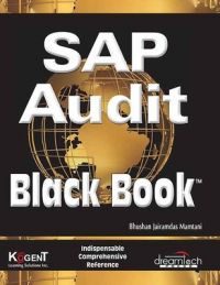 SAP Audit - Black Book (English) 1st Edition (Paperback): Book by Bhushan Jairamdas Mamtani