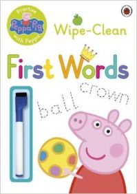 Peppa Pig: Practise with Peppa - Wipe-Clean First Words