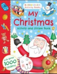 My Christmas Activity and Sticker Book (English) (Paperback)