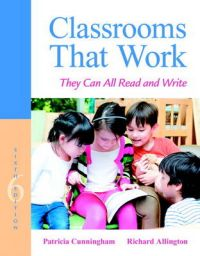 Classrooms That Work: They Can All Read and Write: Book by Patricia M. Cunningham