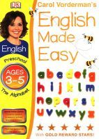 English Made Easy: Ages 3-5 the Alphabet: Book by Carol Vorderman