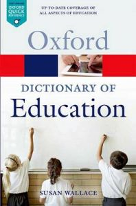 A Dictionary of Education: Book by Susan Wallace